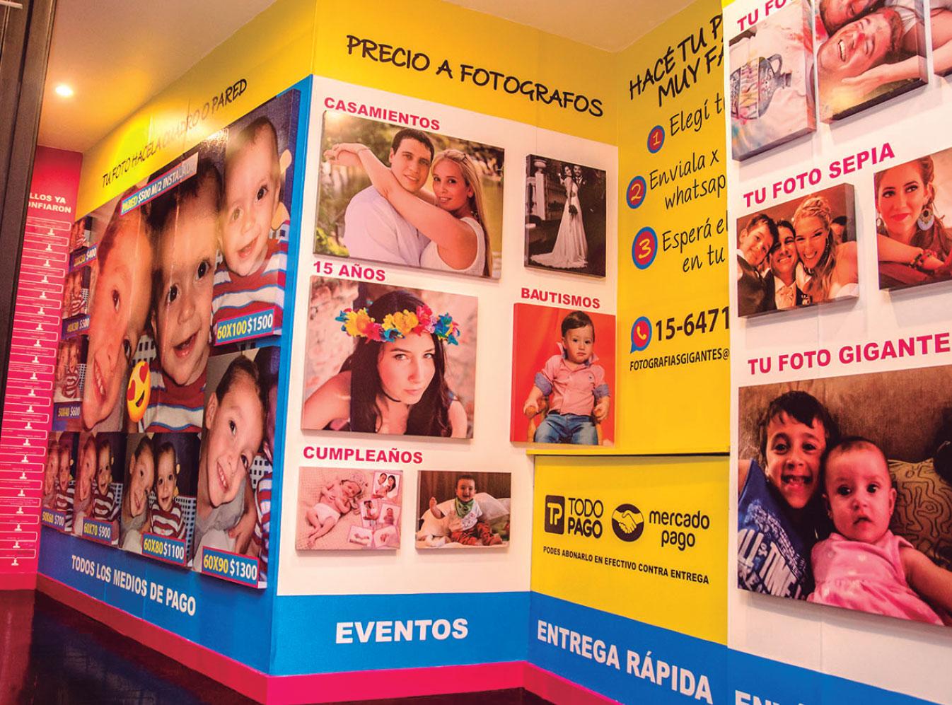 Murales fotográficos